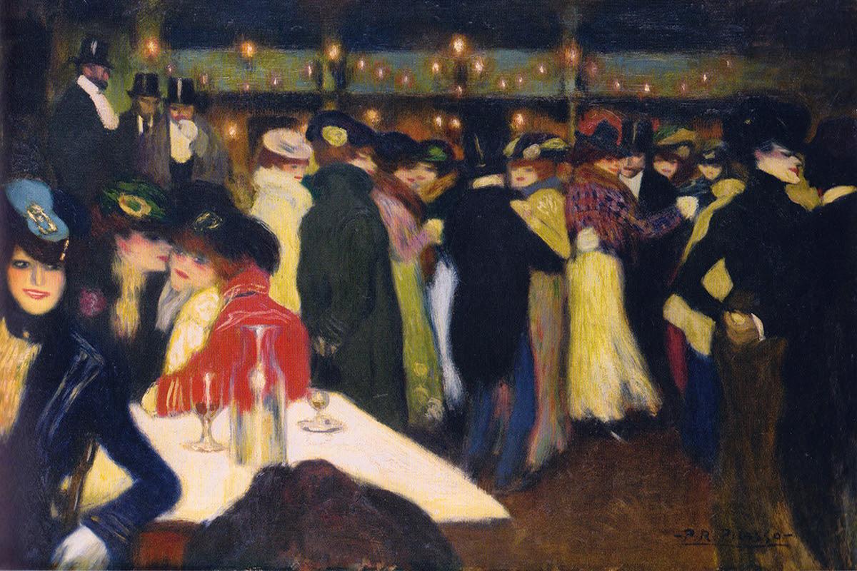 Jan Ezendam - Parijs 1900